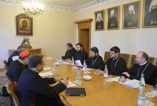 Working Group for cultural cooperation between Russian Orthodox Church and Roman Catholic Church meets for a regular session In Moscow