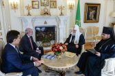 Patriarch Kirill meets with Colombia's ambassador to Russia