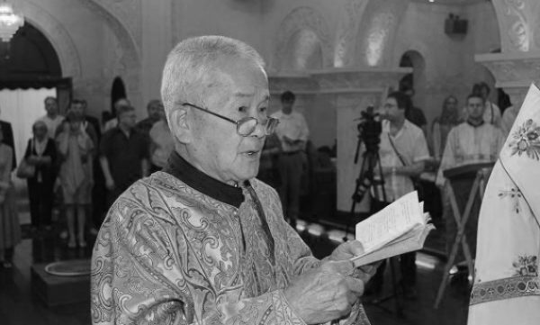 The Oldest deacon of the Chinese Autonomous Orthodox Church died