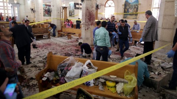 Russian Orthodox Church calls ISIL attacks on Christian churches in Egypt on eve of Holy Week common pain