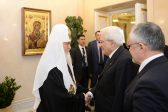 The Russian Church and the Catholic Church should stop confrontation between East and West – patriarch at the meeting with the Italian president