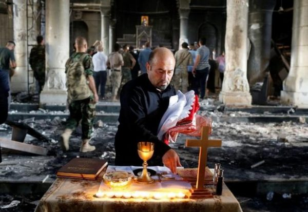 Christian churches pull together to rebuild communities devastated by ISIS in Iraq