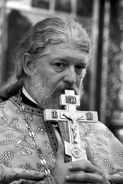 Archpriest Alexii Uminsky. Photo: Yury Rost/Novaya gazeta.
