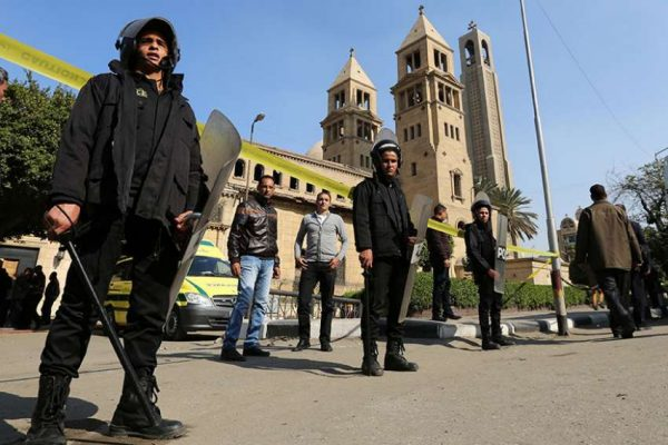Egypt arrests 13 suspected of planning attacks against Christians