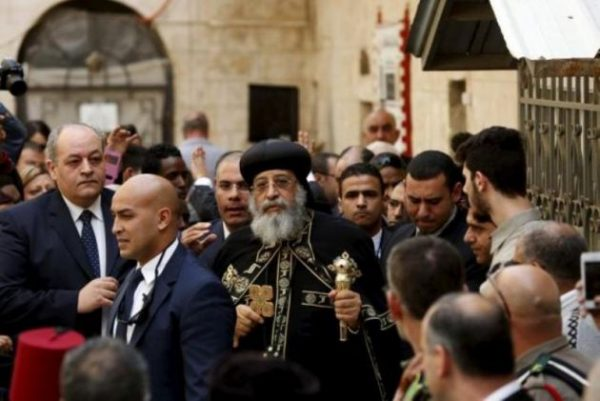 Egypt's Coptic pope says displaced Sinai Christians can go home soon