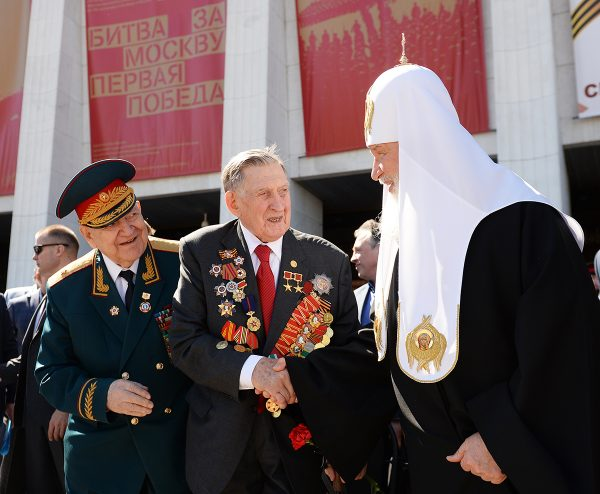 Patriarch Kirill believes St. George the Victory-Bearer helped Russia win the Great Patriotic War