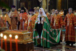 Patriarch: Veneration of St Nicholas unites…
