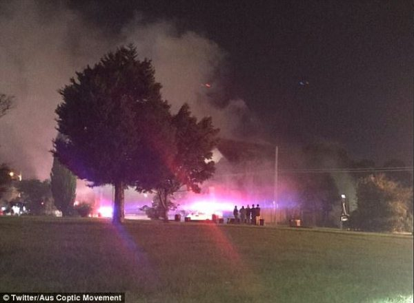 Historic church destroyed by fire after the 115-year-old building went up in flames