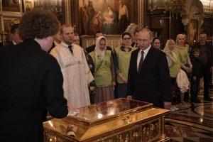 Putin venerates St Nicholas's relics in…