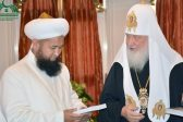 Mufti of Kyrgyzstan meets Patriarch Kirill