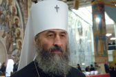 Metropolitan of Kiev and All Ukraine thanks participants in prayer at Verkhovnaya Rada building