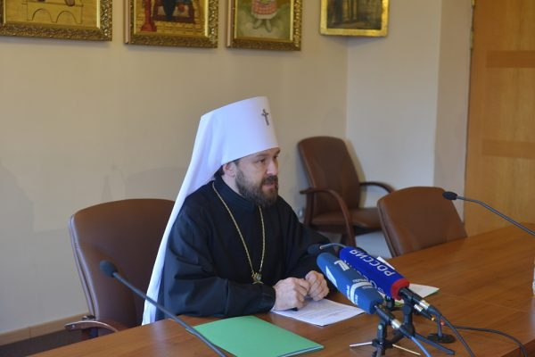 Briefing held at DECR on bringing the relics of St. Nicholas to the Russian Orthodox Church