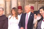 Trump visits Church of the Holy Sepulchre in Jerusalem, meets Armenian Patriarch