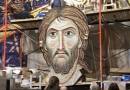 11 ton mosaic of Jesus installed in one of the world's biggest churches