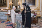 "Queen Elizabeth receives Pope Tawadros II in ""historic"" meeting"