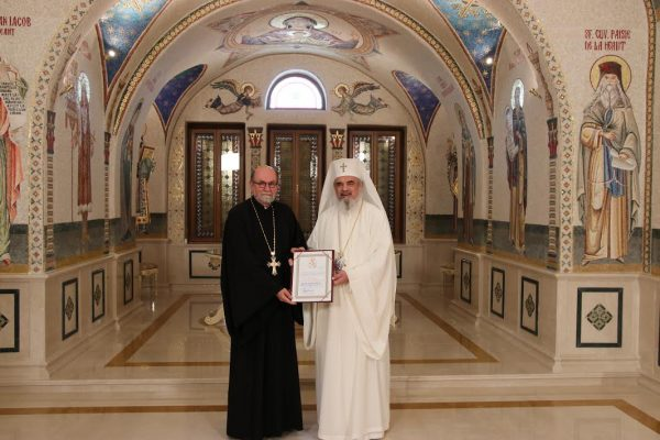 Romanian Patriarch Daniel receives SVOTS President