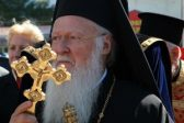 His Holiness Patriarch Kirill congratulates Primate of the Orthodox Church of Constantinople on his nameday