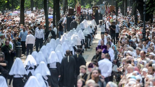 Over 15,000 believers take part in holy procession marking Day of Baptism of Rus