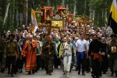 Myriad of pilgrims hold procession in honor of last Russian tsar's murdered family