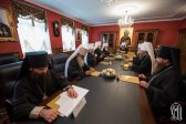 Meeting of the Synod of the Ukrainian Orthodox Church
