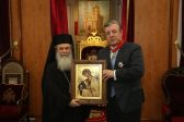 Jerusalem's Patriarch Theophilos III awards Georgian Prime Minister