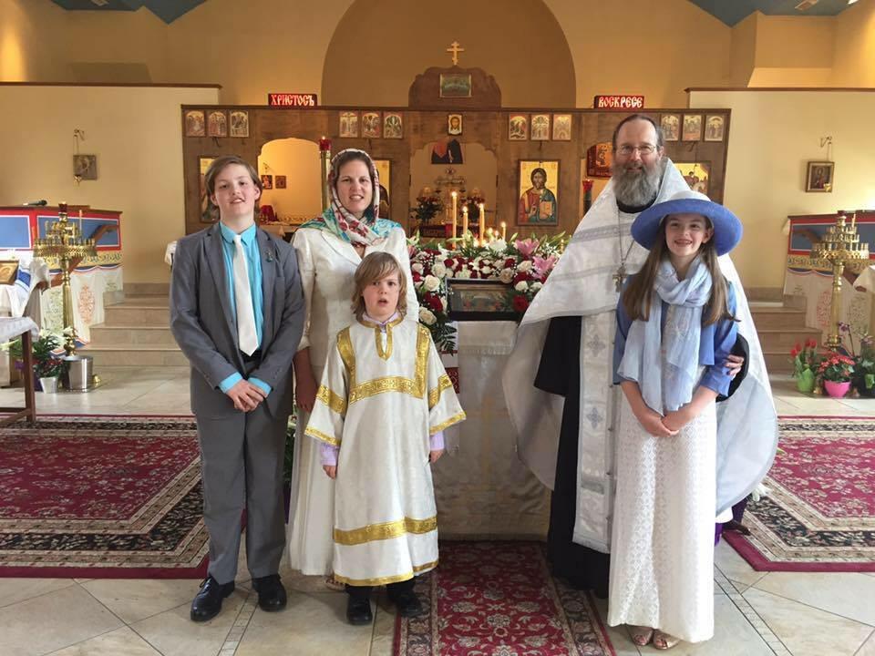 The Marshall Family on Pascha 2017
