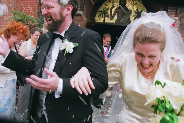 Wedding at St. John's in Washington, DC