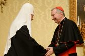 His Holiness Patriarch Kirill meets with Holy See Secretary of State