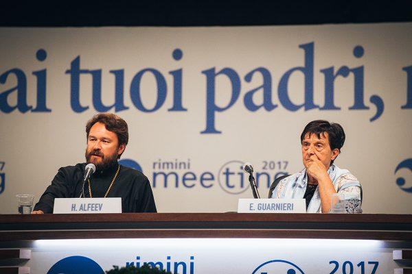 Metropolitan Hilarion Of Volokolamsk speaks at the annual Meeting for Friendship Amongst Peoples in Rimini