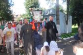 International procession with the cross arrived in Lutsk, Ukraine