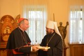 Metropolitan Hilarion meets with Holy See Secretary of State