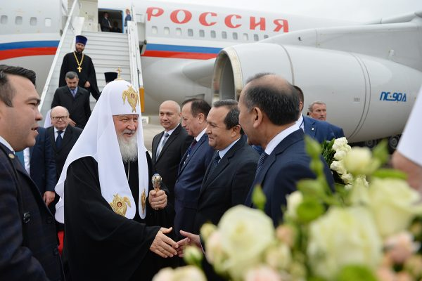 Russian Orthodox Church head visits Uzbekistan