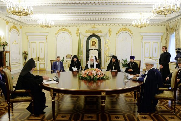 Statement adopted at the conclusion of the Trilateral Meeting of religious leaders of Armenia, Azerbaijan and Russia