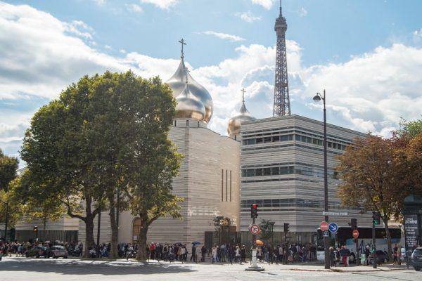 Trinity Cathedral on Quai Branly in Paris becomes a revelation of the days of the French National Heritage