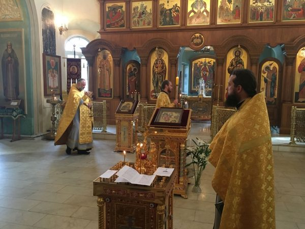 16th anniversary of 9/11 terror attack in the United States was marked by requiem service at the Moscow Representation of the Orthodox Church in America