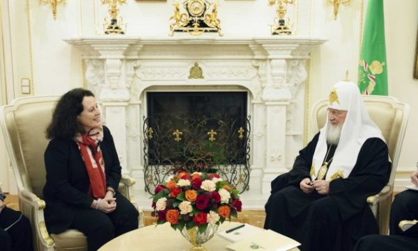 His Holiness Patriarch Kirill Meets With Ambassador Of France To Russia