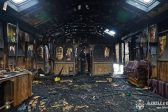 Radicals in Lvov Set Fire to a Church of the Ukrainian Orthodox Church
