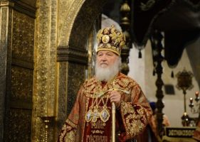 Patriarch Kirill Speaks of 'Unprecedented Pressure'…
