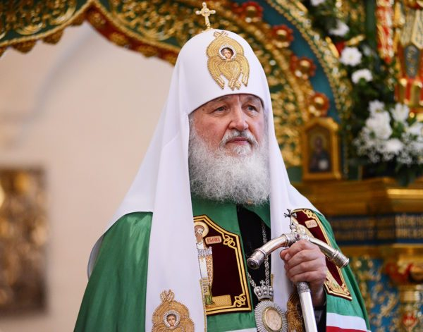 Patriarch Kirill Favors Preserving Jerusalem's Special Status