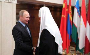 Russian President Congratulates Patriarch Kirill on…