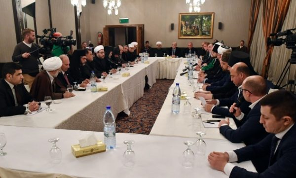 Representatives of Religious Communities of Syria and Russia Meet in Damascus