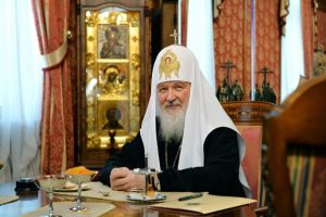 His Holiness Patriarch Kirill Greets Primate…