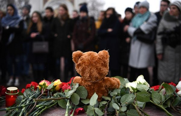 Putin Declares March 28 Day of Mourning over Kemerovo Tragedy
