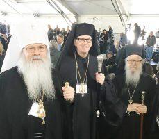 Metropolitan Tikhon Represents OCA at Funeral…