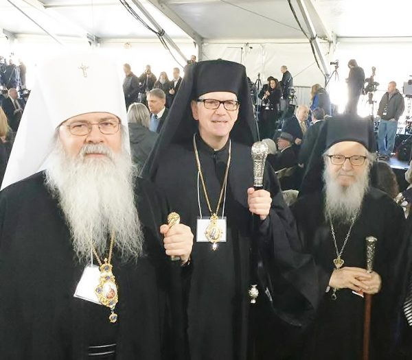 Metropolitan Tikhon Represents OCA at Funeral of Rev. Billy Graham