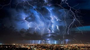 At Least 16 Dead as Lightning…