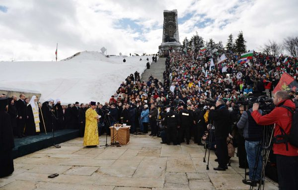 His Holiness Patriarch Kirill Takes Part in the Celebrations on Mount Shipka on Bulgaria's Liberation Day