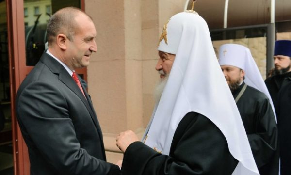 Patriarch Kirill Meets with President of Bulgaria