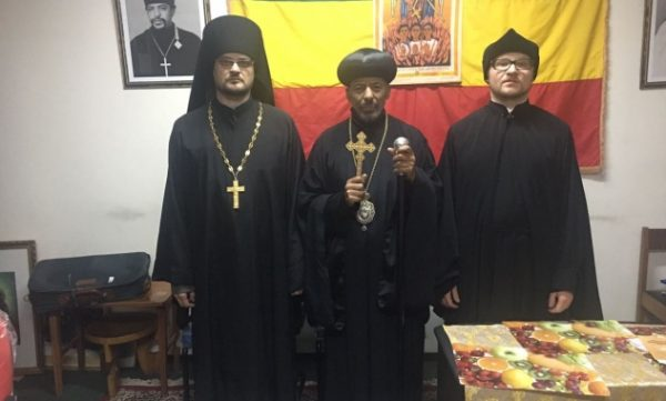 Delegation of the Russian Orthodox Church Visits Ethiopia