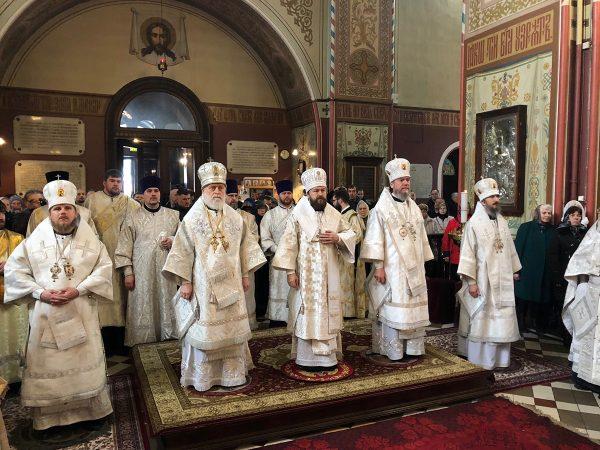 Funeral Service for Metropolitan Cornelius of Tallinn and All Estonia Takes Place in Tallinn
